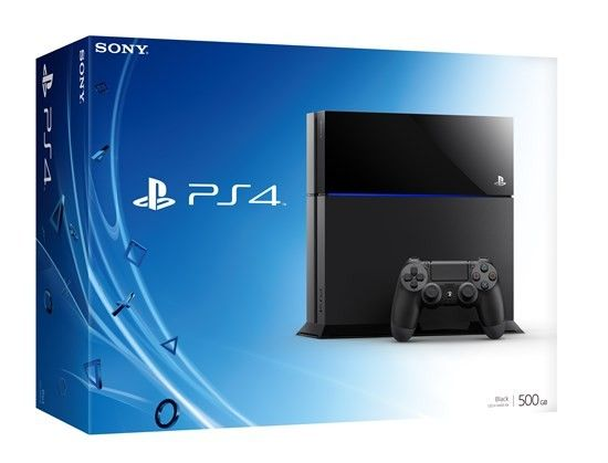 Sony PlayStation 4 500GB Slim PS4 inkl. Controller