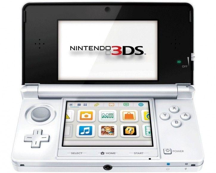 3DS Konsole Schneeweiß