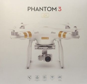 DJI Phantom 3 4K Quadrocopter
