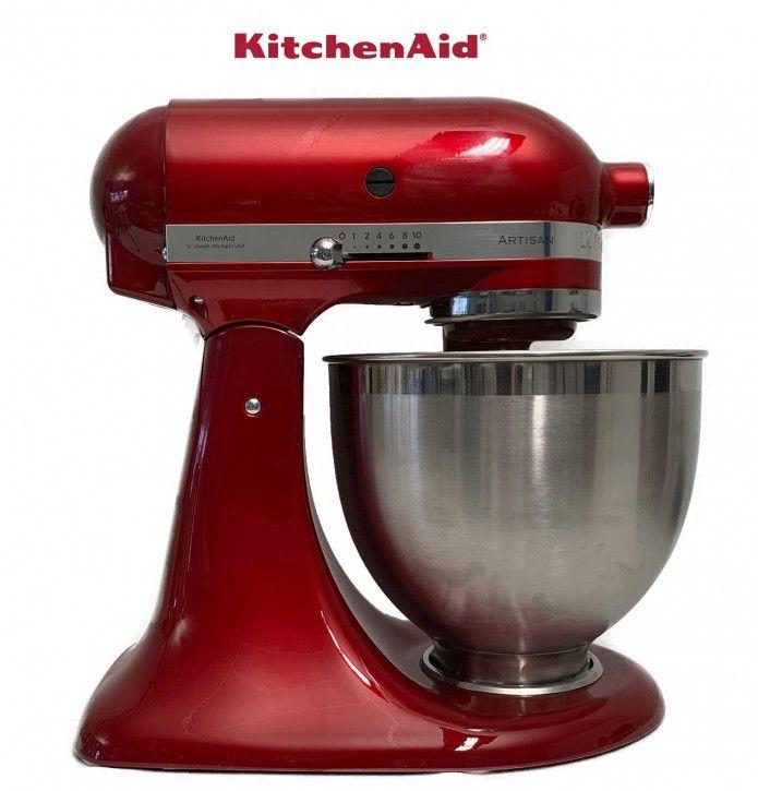 KitchenAid Artisan 5KSM185PSECA Liebesapfel-rot