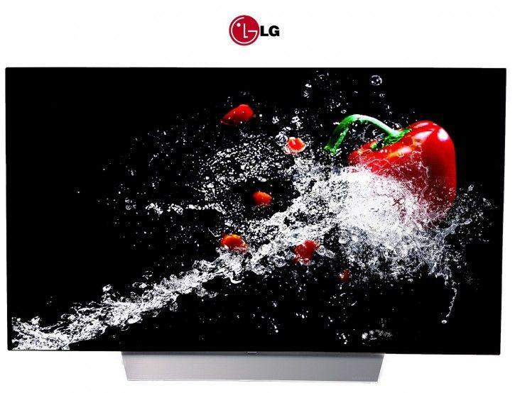 LG 65C7D OLED TV Deutsche Version Twin Tuner