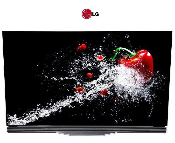 LG OLED65E7V OLED flat UHD TV Deutsche Ware