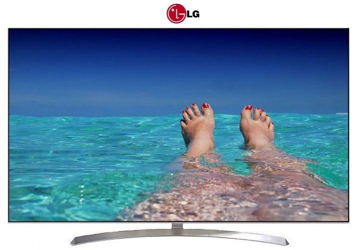 LG 65UH950V 164 cm (65 Zoll) Fernseher (Ultra HD, Smart TV, Triple Tuner, 3D Plus)