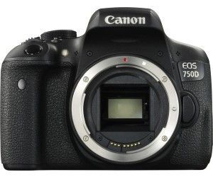 Canon EOS 750D SLR-Digitalkamera (Kit inkl. EF-S 18-135 mm IS STM Objektiv schwarz)