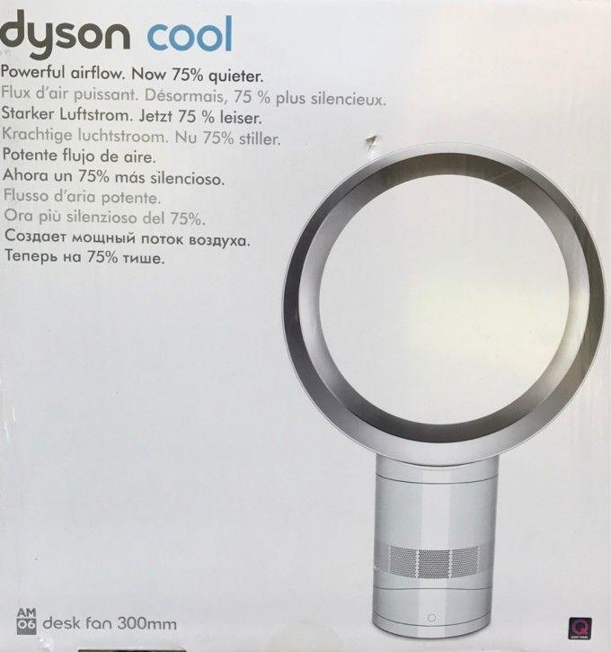 Dyson AM06 Tischventilator, weiß