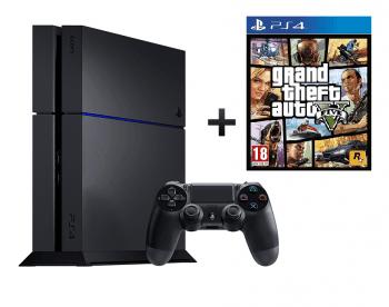 Sony Playstation 4 500GB Bundle inkl. GTA