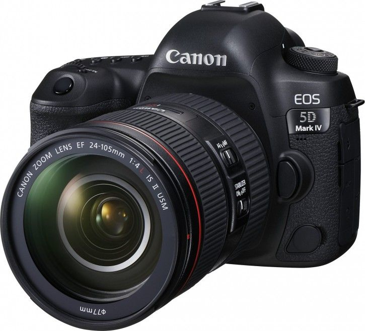 Canon EOS 5D Mark IV Kit inkl. 24-105mm f4 L IS II USM