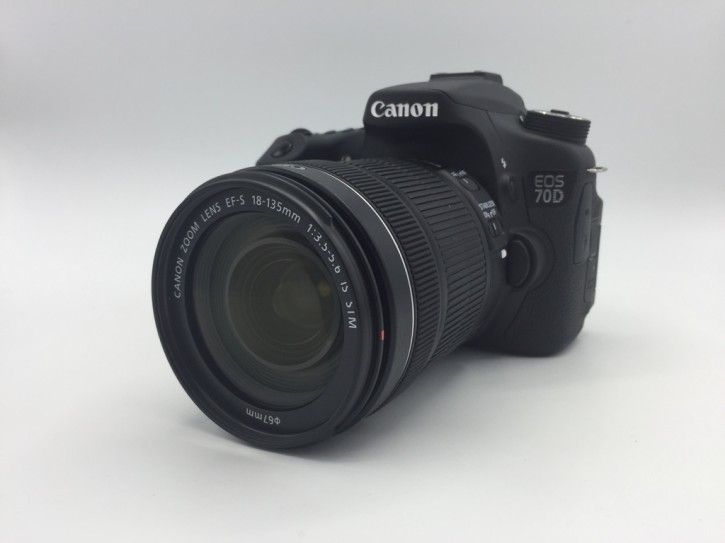 Canon EOS 70D Kit inkl. 18-135 mm Objektiv