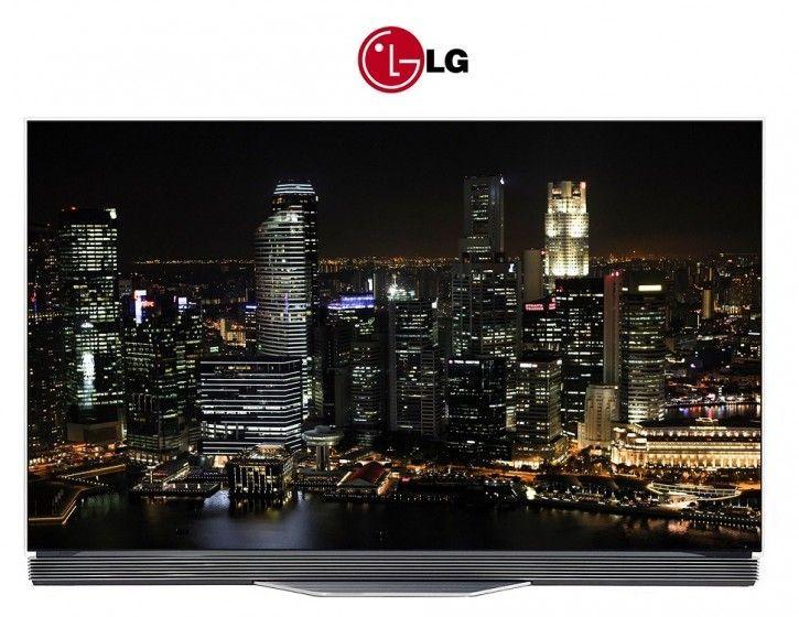 LG OLED55E7N flat OLED 4K TV
