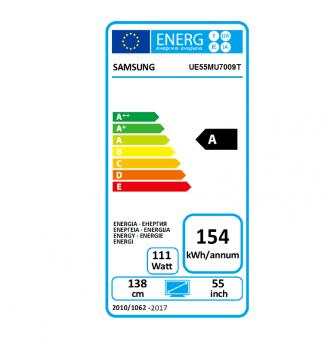 Samsung UE55MU7009 flat Premium UHD TV, EEK:A