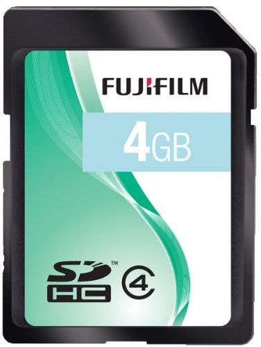 Fujifilm 4GB SD Card (SDHC) - Class 4