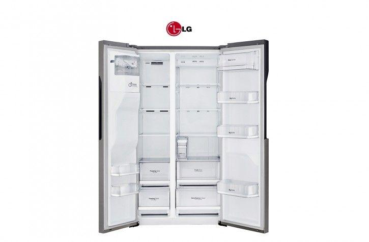 Side By Side Kühlschrank Lg : Lg gsl 361 icez side by side digitaldisplay mit temperaturregelung