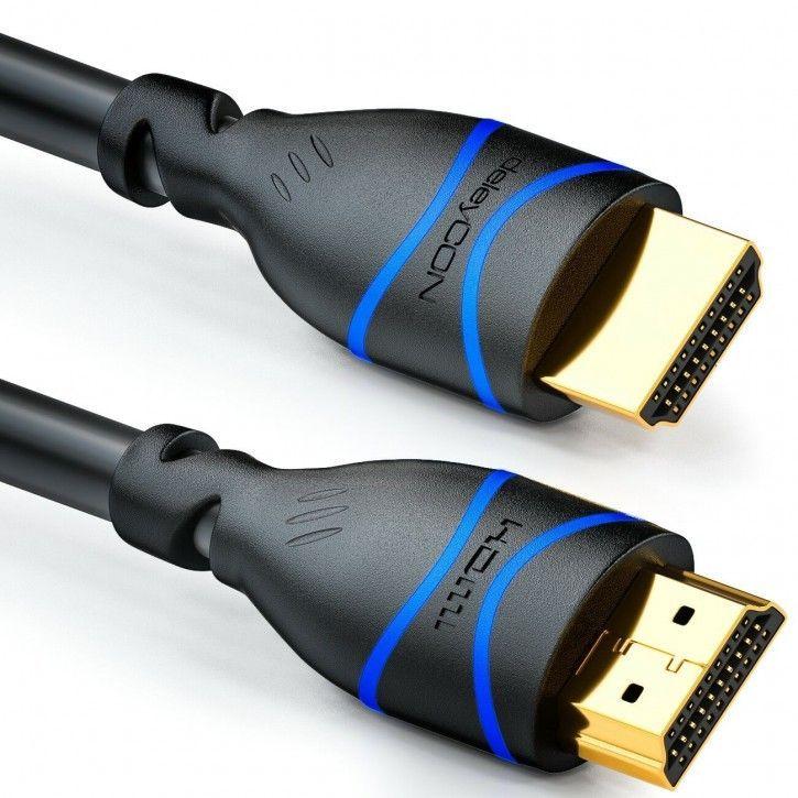 2m HDMI Kabel HDMI 2.1 UHD (8K mit 60Hz, 4K mit 120Hz) kompatibel mit PS5, XBOX