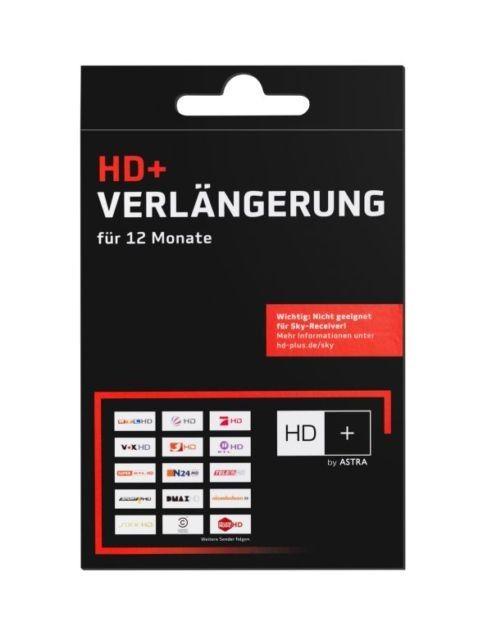 HD+ Verlängerung für 12 Monate HDTV Astra