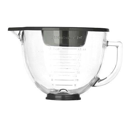 KitchenAid Designer - Glasschüssel 4,83L