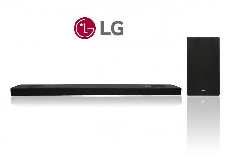 LG SL9YG 4.1.2 Dolby Atmos Soundbar mit drahtloser Subwoofer. 500 W, Bluetooth, WLAN
