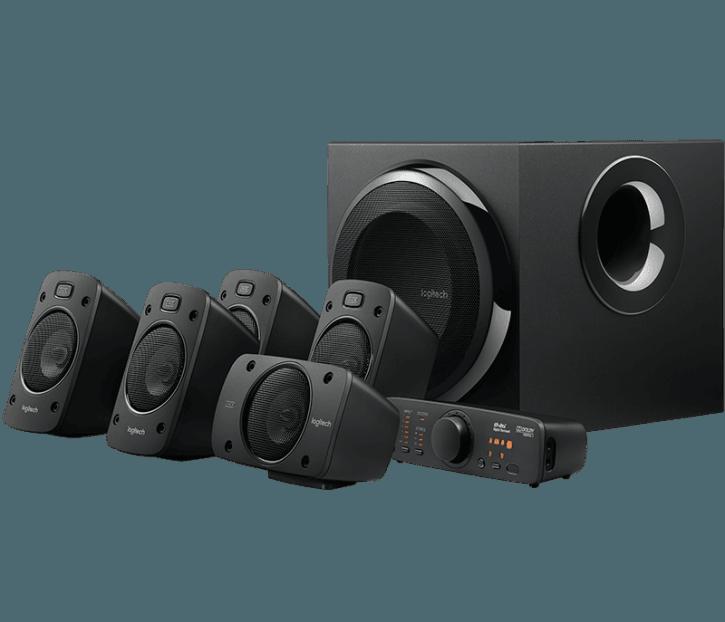 Logitech Z906 5.1 Soundsystem mit Subwoofer