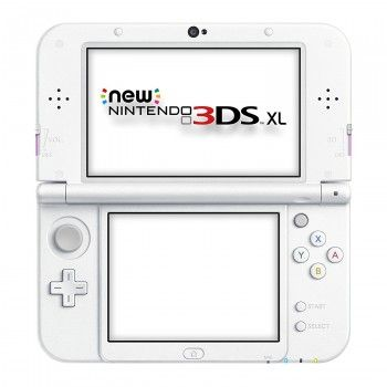 New Nintendo 3DS XL White Pink
