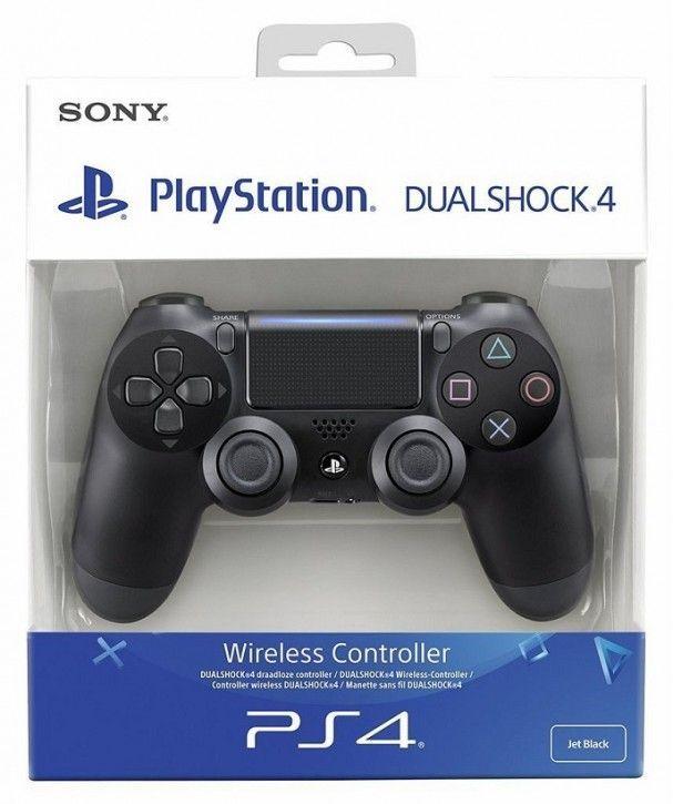 Sony Dualshock 4 Wireless Controller, schwarz Version 2016