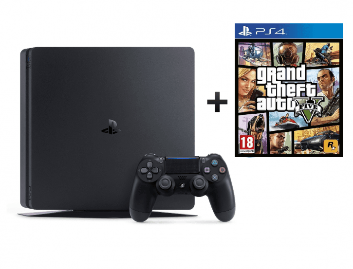 Sony Playstation 4 500GB Bundle inkl. GTA
