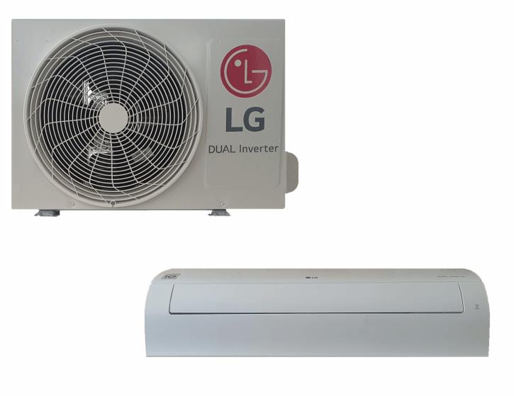 LG Klimaanlage R32 Wandgerät Standard 3,5 kW SET (1x S12EQ NSJ + 1x S12EQ UA3 - 12.000 BTU) - EEK A++ / A+