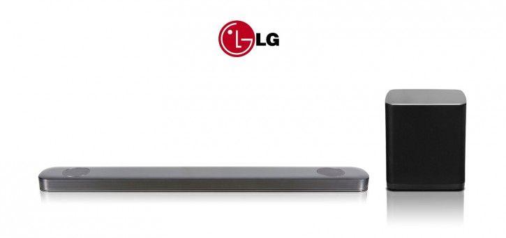 LG SJ9 5.1.2 Dolby Atmos Soundbar, Heimkinosystem