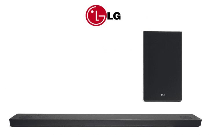 LG SK10 5.1.2 Soundbar mit drahlosem Subwoofer 550W Bluetooth WLAN