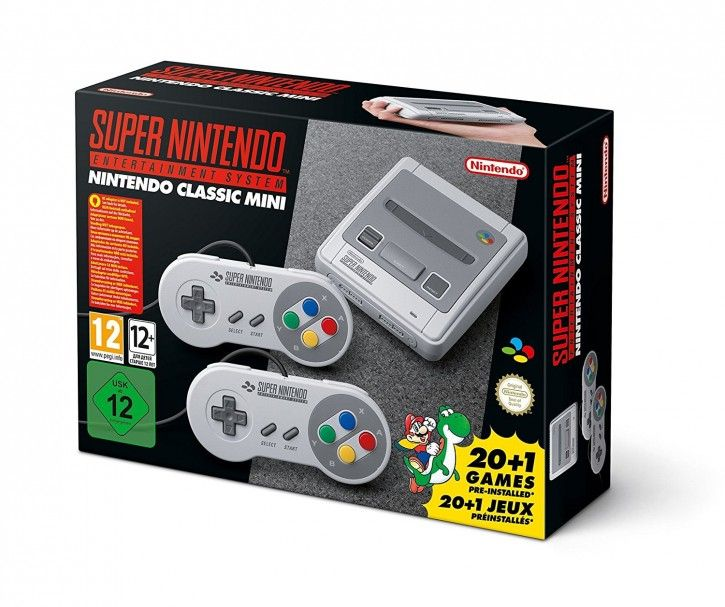 Nintendo Classic Mini: Super Nintendo Entertainment System SNES