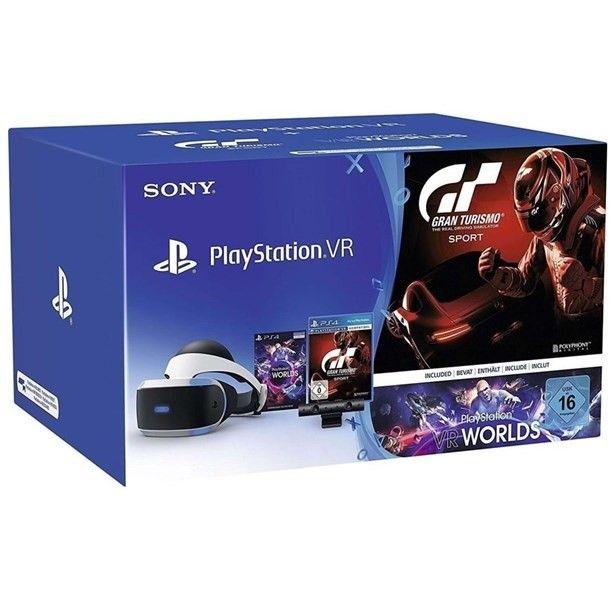 Sony Playstation VR inkl. Kamera/Gran Turismo Sport/VR Worlds Voucher