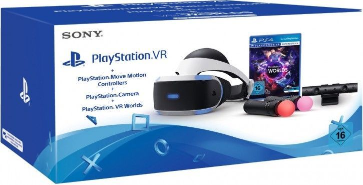 Sony Playstation VR inkl. Kamera/Motion/VR-Worlds