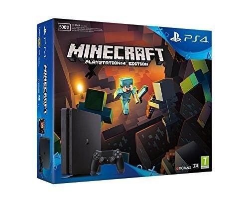 PlayStation 4 (PS4) 500GB Slim + Minecraft