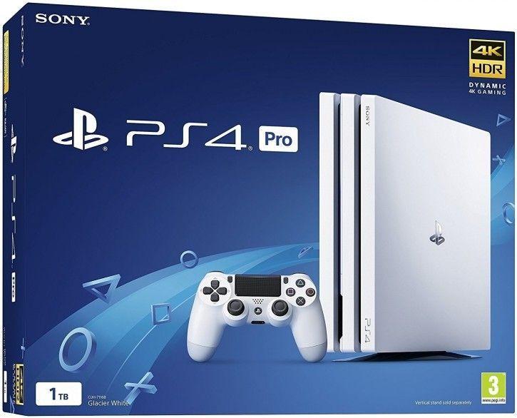 Sony Playstation 4 Pro 1TB weiß