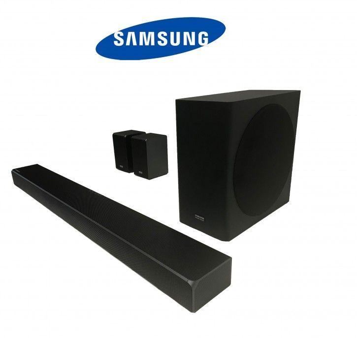 Samsung HW-Q90R - Soundbar, 7.1.4ch, 510W, Schwarz