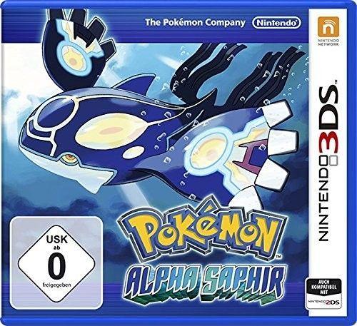 3DS Spiel -  Pokémon: Alpha Saphir
