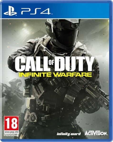 PS4 Spiel - Call of Duty: Infinite Warfare - Standard Edition