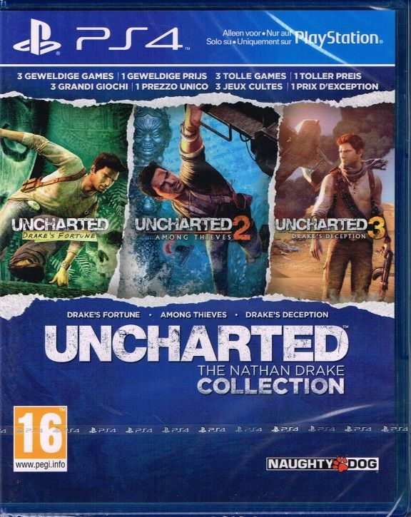 PS4 Spiel - Uncharted: The Nathan Drake Collection PEGI