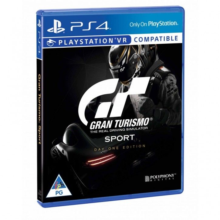 PS4 Spiel - Gran Turismo Sport Day One Edition