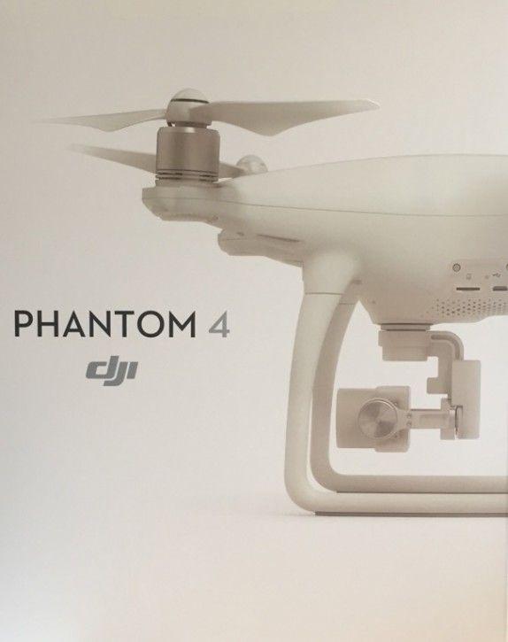 DJI Phantom 4 Quadcopter inkl. 4K Kamera