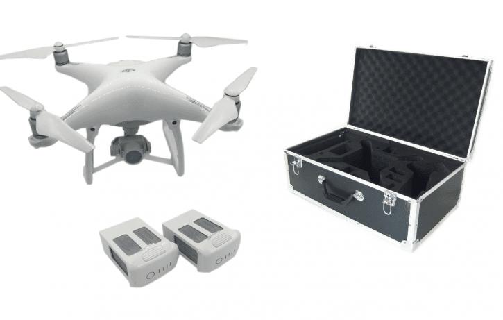 DJI Phantom 4 Kit + Zusatzakku + Transportkoffer