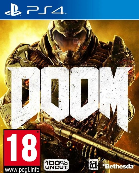 PS4 Spiel - Doom - 100% Uncut - Day One Edition