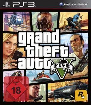 PS3 Spiel - GTA V