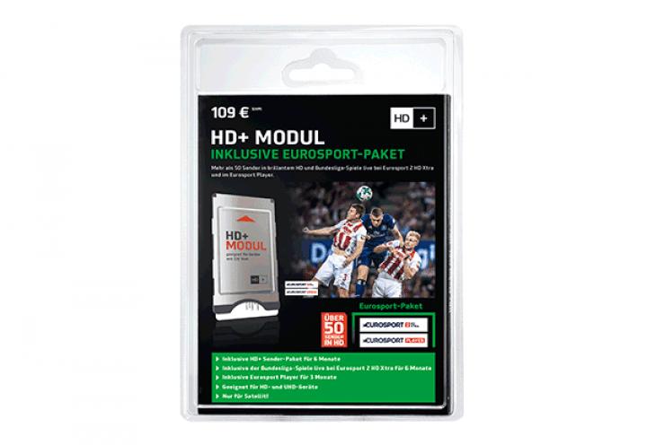 HD+ Modul inkl. 6 Monate HD+ und Eurosport Paket