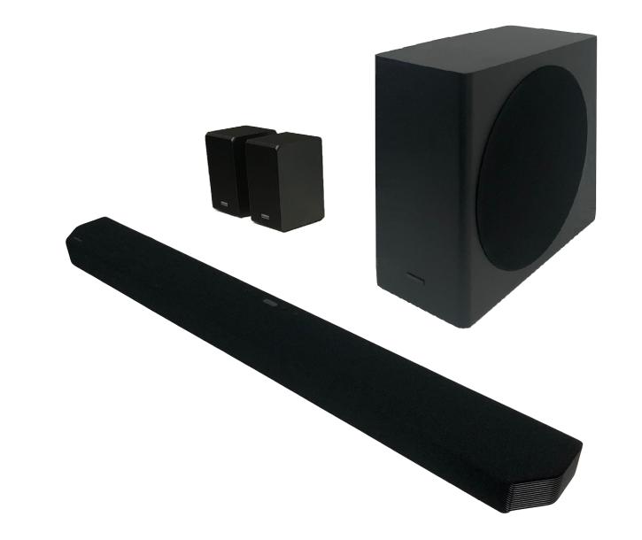 Samsung HW-Q950T - Soundbar, 9.1.4ch, Schwarz