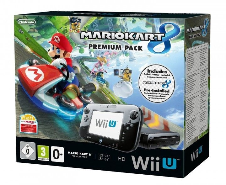 Nintendo Wii U Konsole Mario Kart 8 Premium Pack