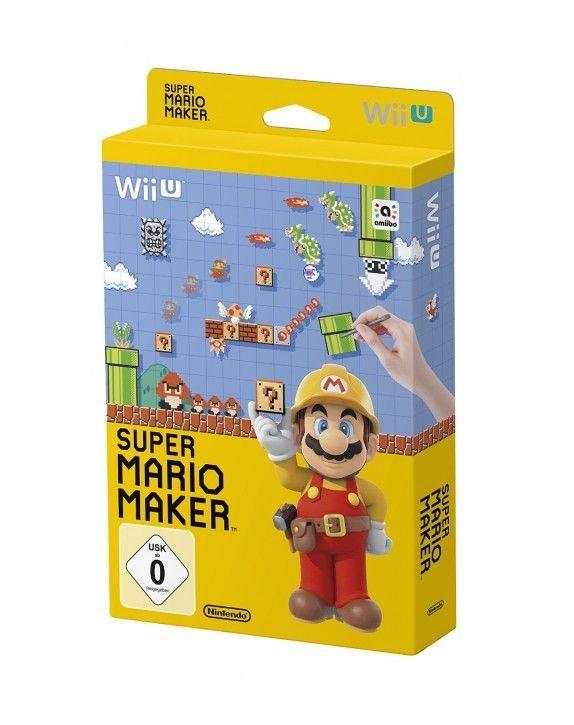 Nintendo Wii U Spiel - Super Mario Maker - Artbook Edition