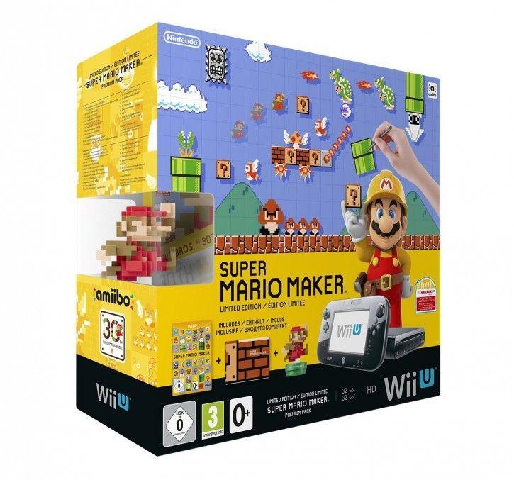 Nintendo Wii U Premium Pack inkl. Super Mario Maker