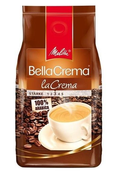 Melitta BellaCrema laCrema Kaffeebohnen 1000g