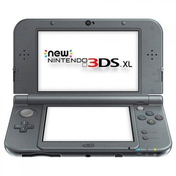 New Nintendo 3DS XL metallic schwarz