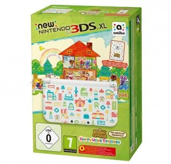 New Nintendo 3DS XL Konsole + Happy Home Designer