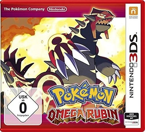 3DS Spiel -  Pokémon: Omega Rubin